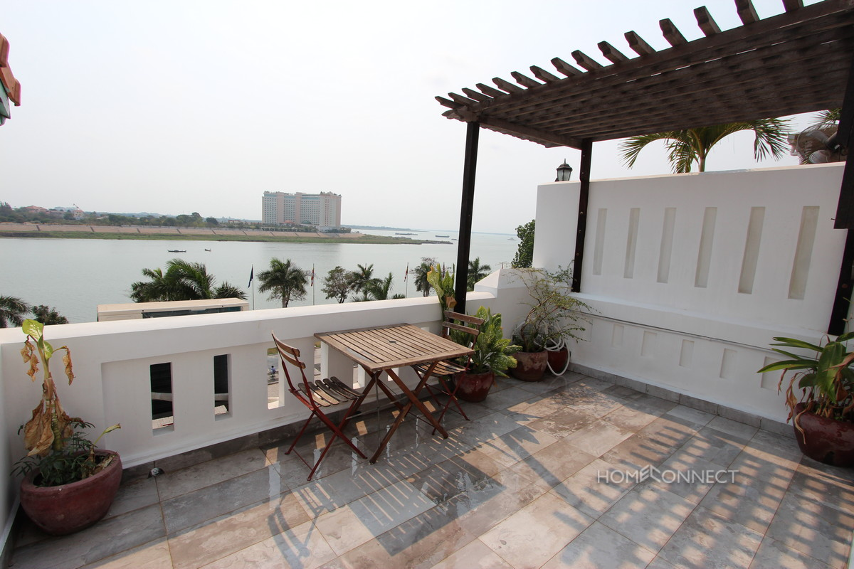 French Colonial 2 Bedroom Apartment on Riverside | Phnom Penh