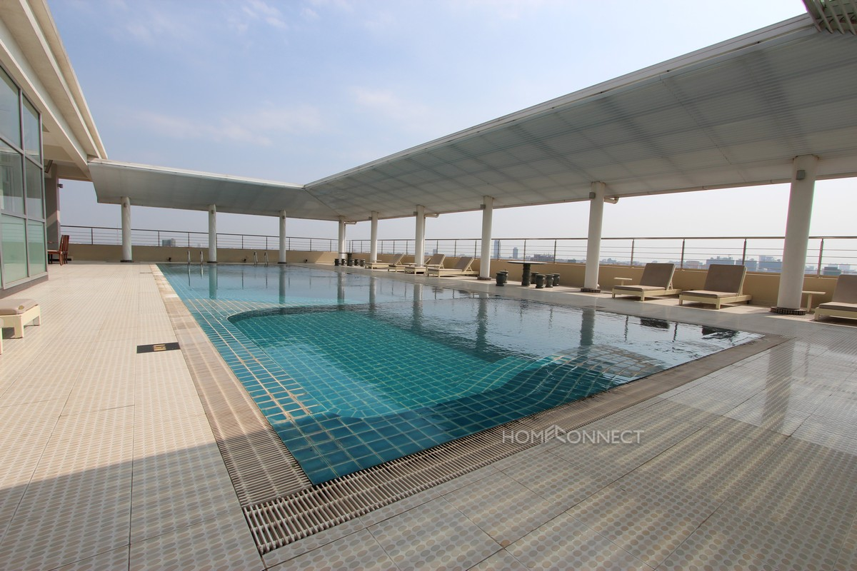 Spacious modern 3 bedroom apartment in Toul Kork