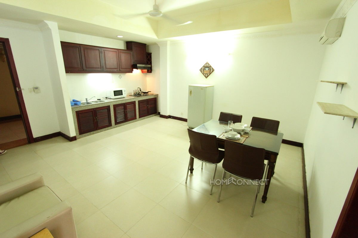 Serviced Studio Apartment in Wat Phnom