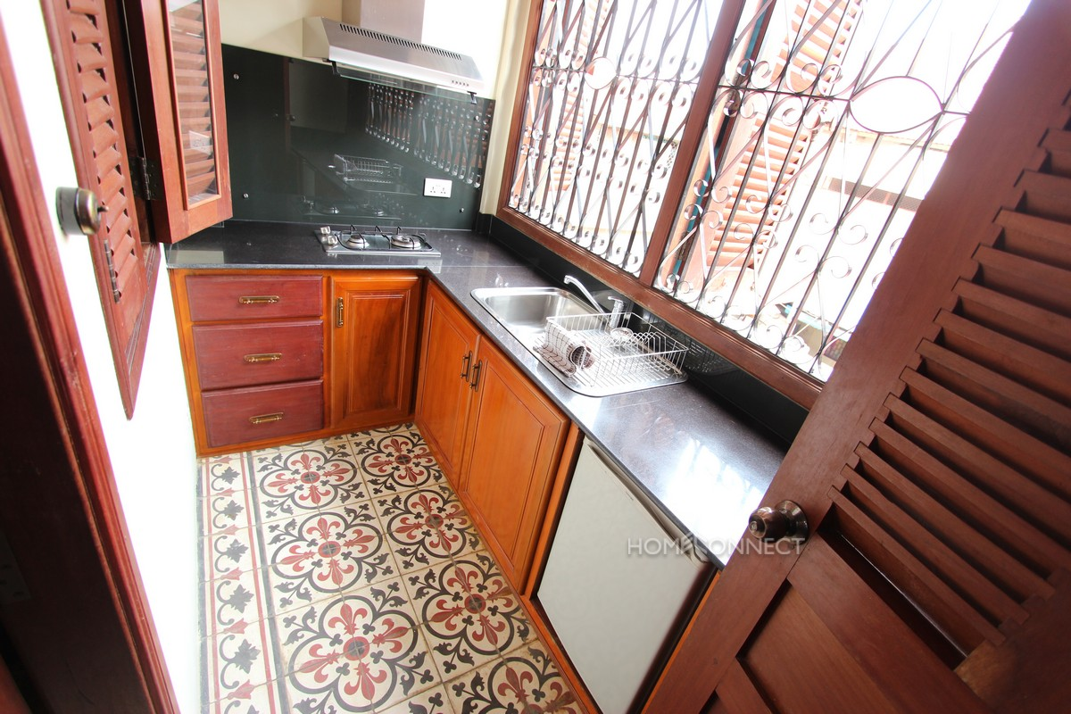 Colonial Apartment in the Heart of Phnom Penh's Old Quarter