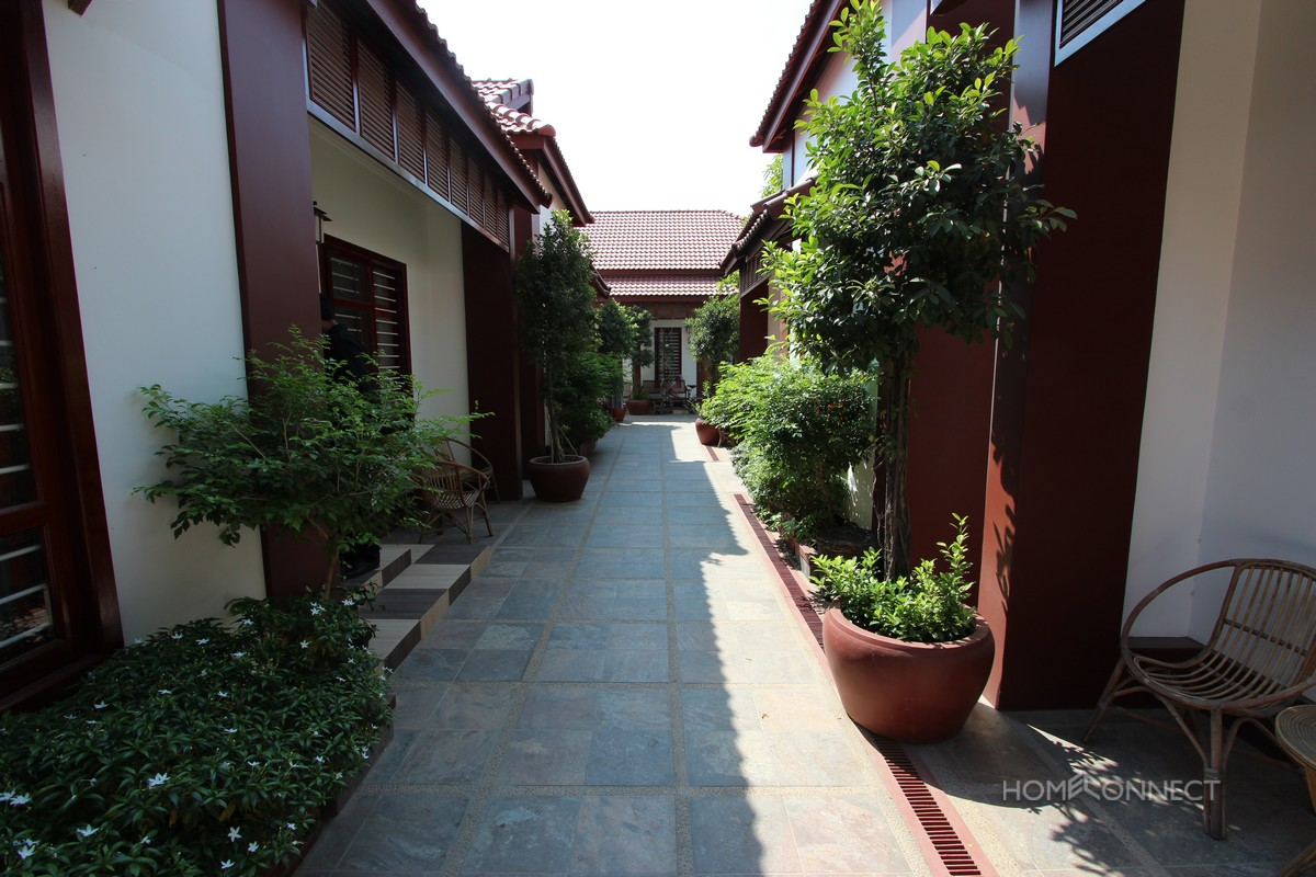 Low rise apartment close to Russian market, Phnom Penh