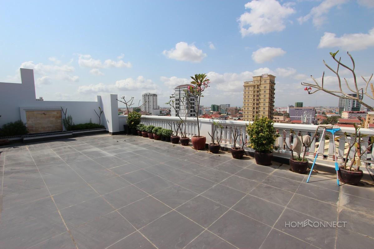 High rise apartment near Russian market, Phnom Penh.