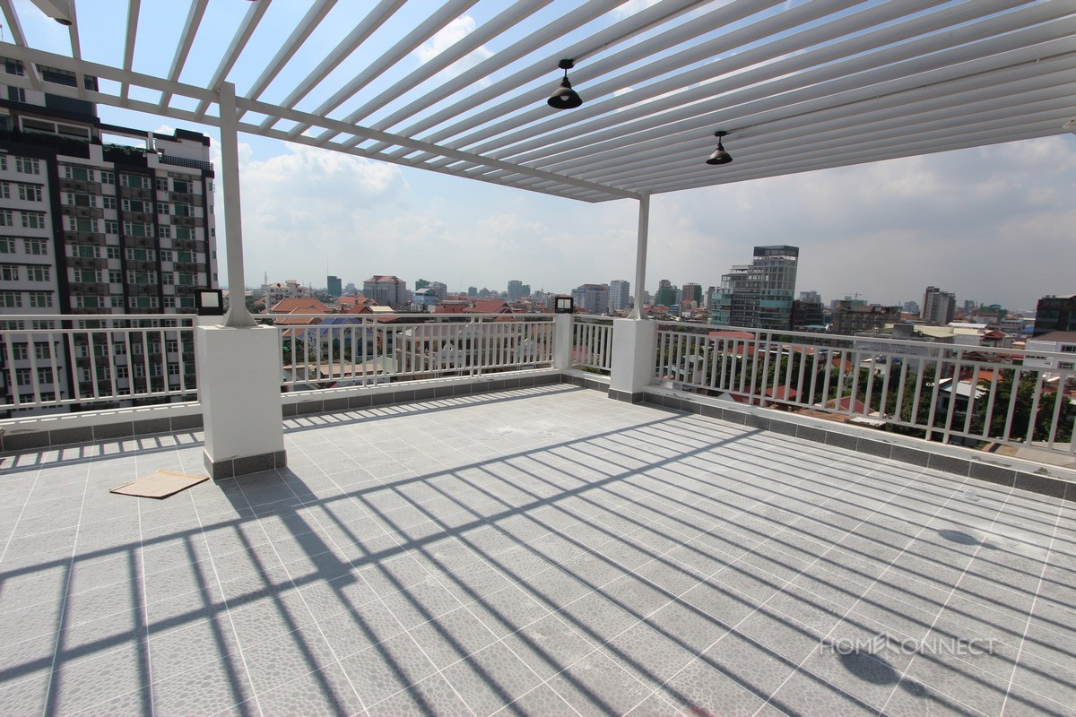 Large Penthouse Apartment With Views in BKK1 | Phnom Penh