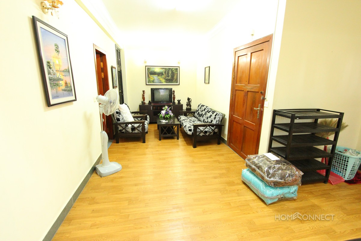 Good Sized 2 Bedroom Apartment in the Heart of BKK1 | Phnom Penh