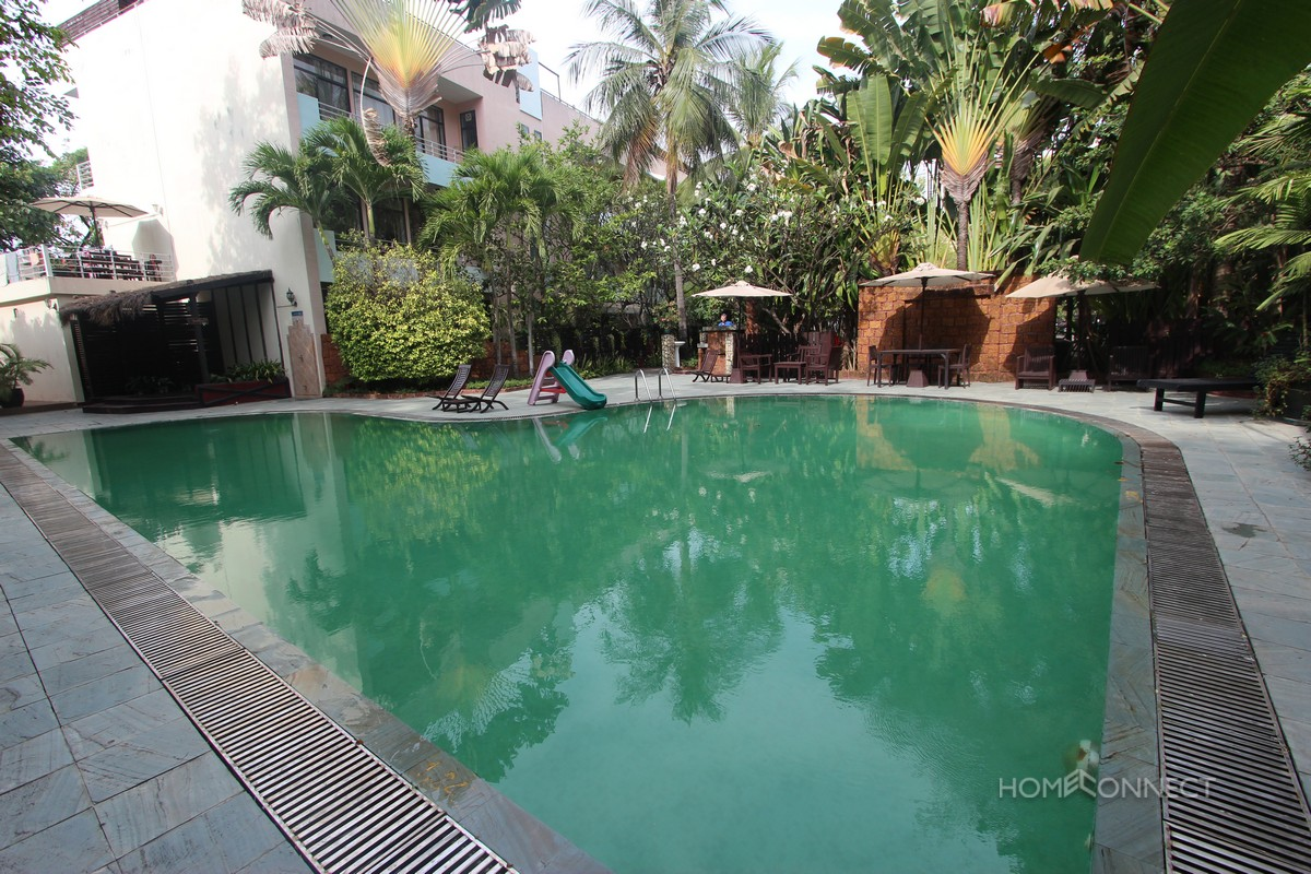 Centrally Located 3 Bedroom Apartment Near Independence Monument | Phnom Penh