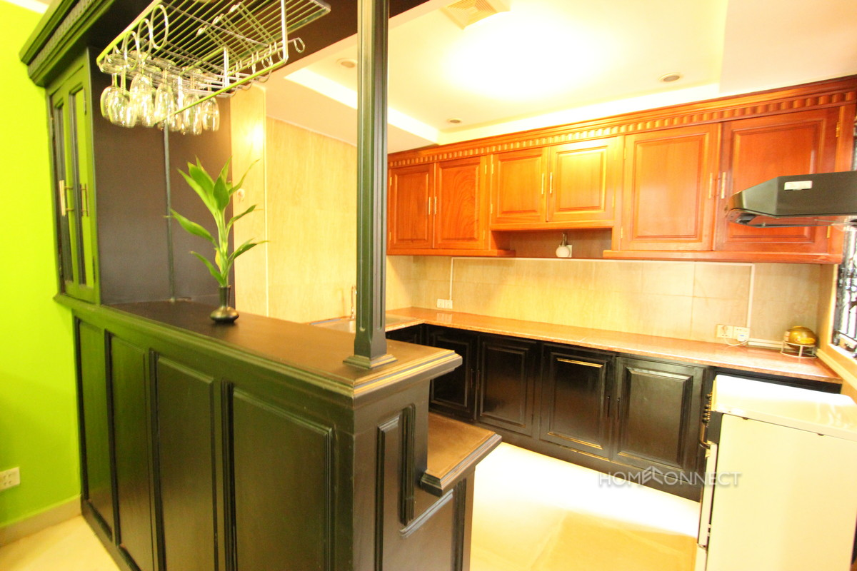 Beautifully Decorated 4 Bedroom Townhouse in Tonle Bassac | Phnom Penh