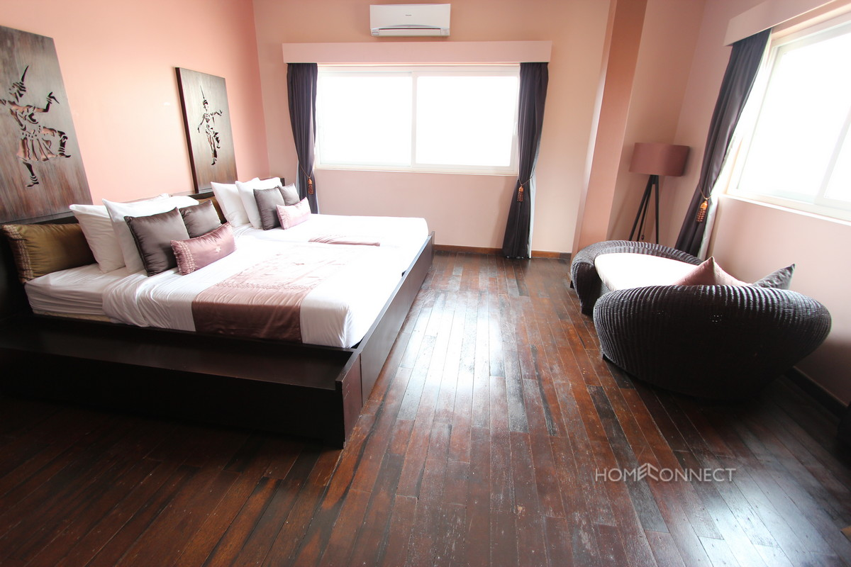 Unique Two Bedroom Apartment Near Riverside | Phnom Penh