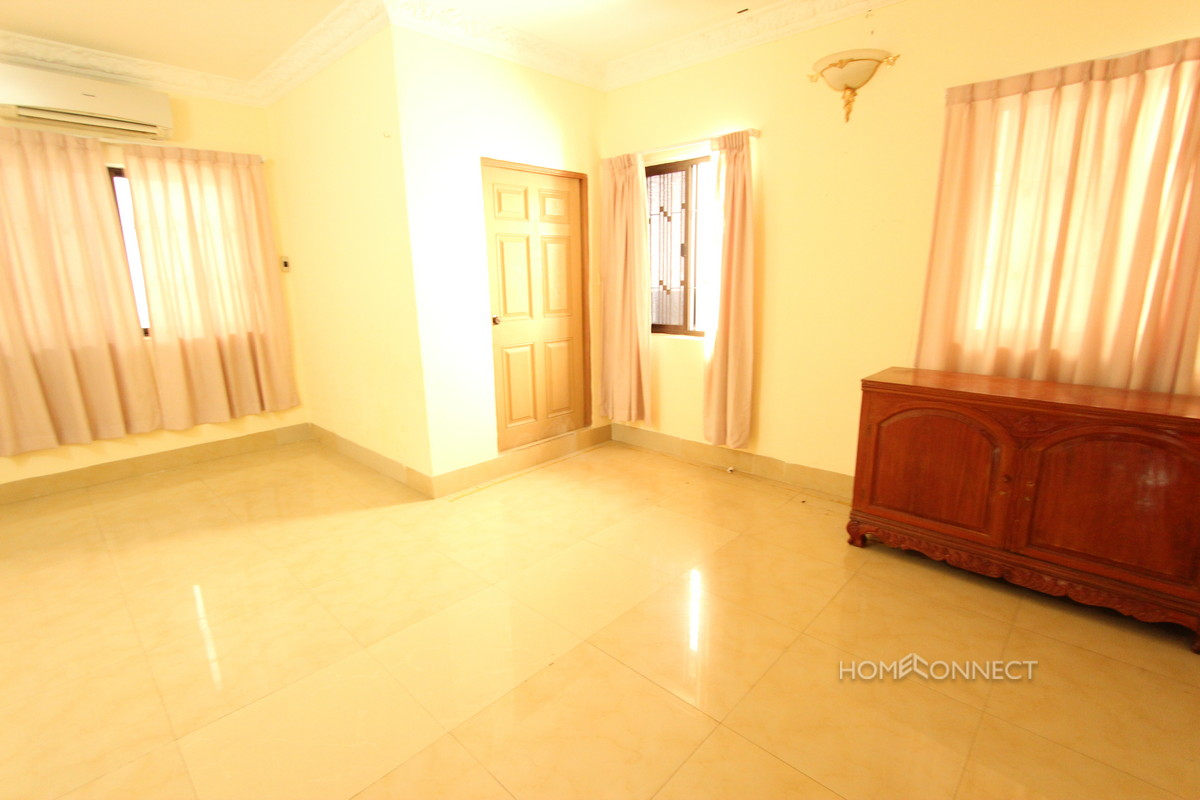 Large 4 Bedroom Villa South of the Russian Market | Phnom Penh