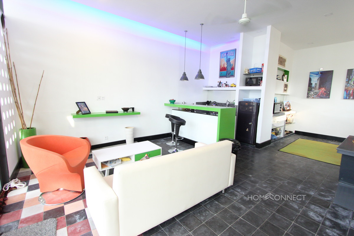 Large Terrace 2 Bedroom Apartment Near Central Market | Phnom Penh
