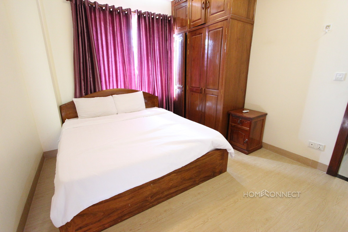 Comfortable 2 Bedroom Apartment Near the Russian Market | Phnom Penh