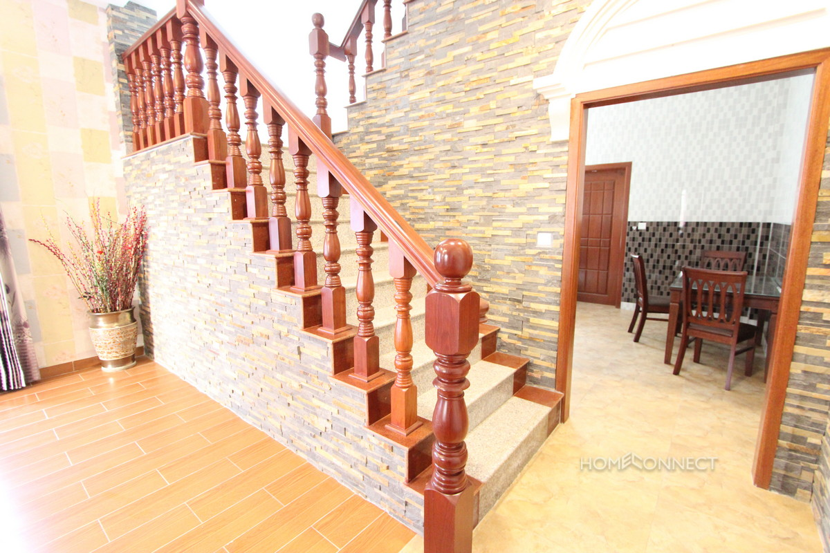 Secure 4 Bedroom Townhouse in the Russian Market Area | Phnom Penh