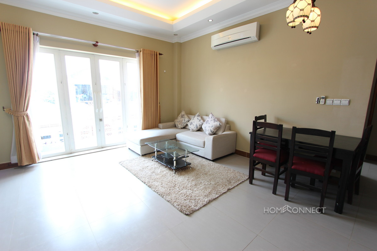 Spacious 1 Bedroom Apartment in Toul Tom Poung | Phnom Penh