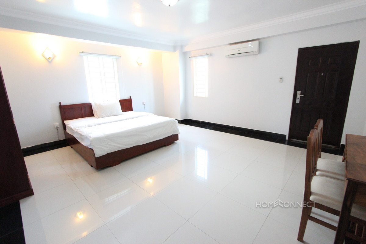 Roomy 1 Bedroom Apartment in Toul Tom Poung | Phnom Penh