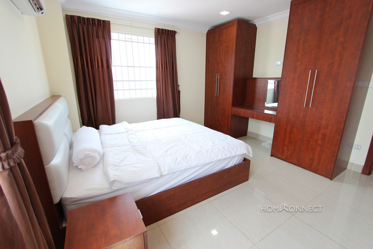 Serviced 1 Bedroom Apartment Near the Russian Market | Phnom Penh