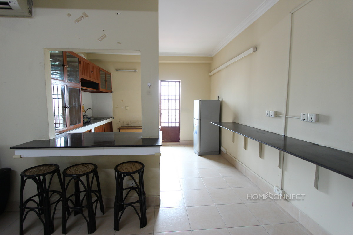 Secure 2 Bedroom Apartment Close to Russian Market | Phnom Penh