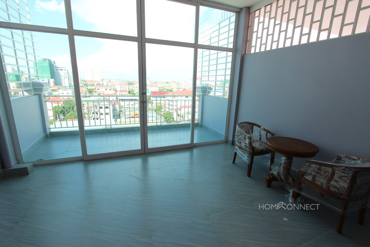 Newly finished Modern 1 Bedroom Apartment Beside Russian Market | Phnom Penh
