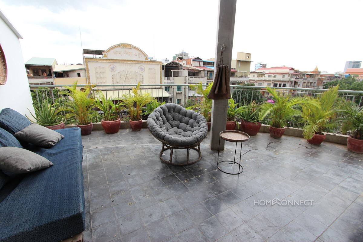 Unique 2 Bedroom Duplex Apartment Near Olympic For Sale | Phnom Penh