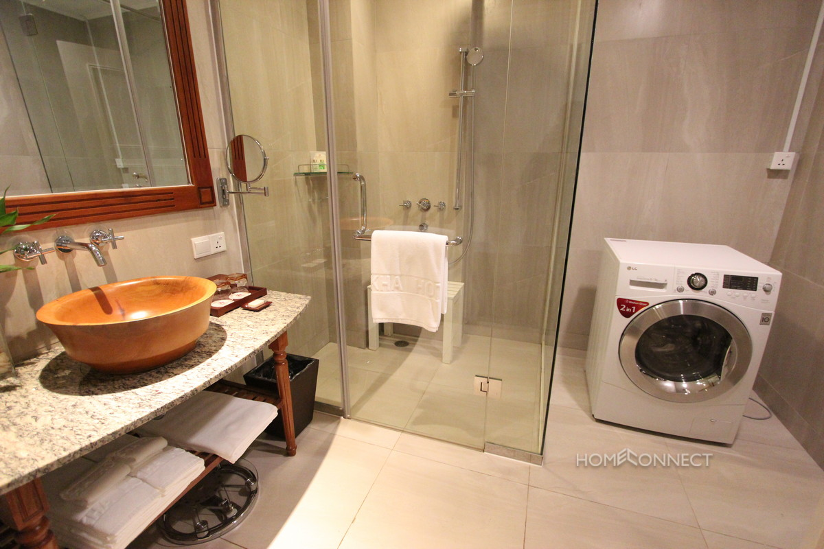 Fully Serviced Studio on the River in Chroy Chongva | Phnom Penh Real Estate