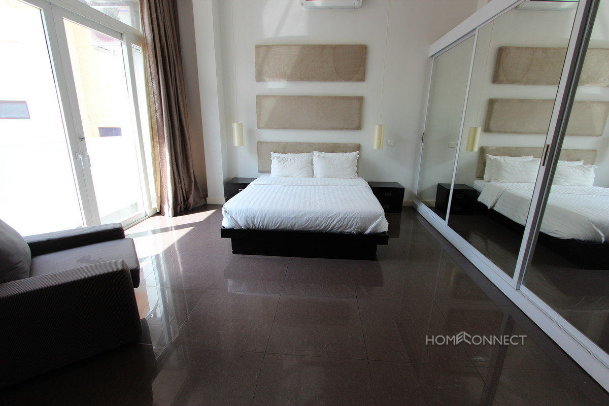 Modern and Stylish Studio Apartment in Tonle Bassac | Phnom Penh Real Estate