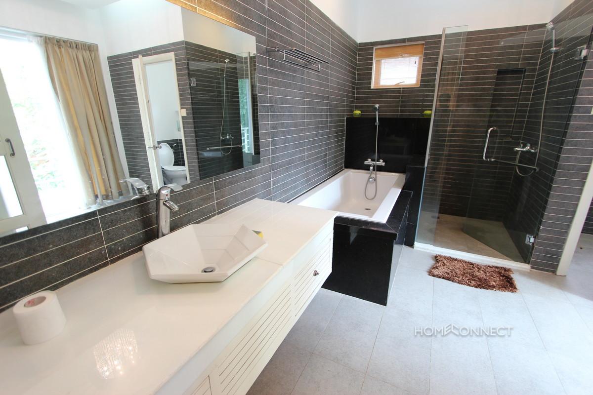 Modern 3 Bedroom Villa Located In Tonle Bassac | Phnom Penh Real Estate