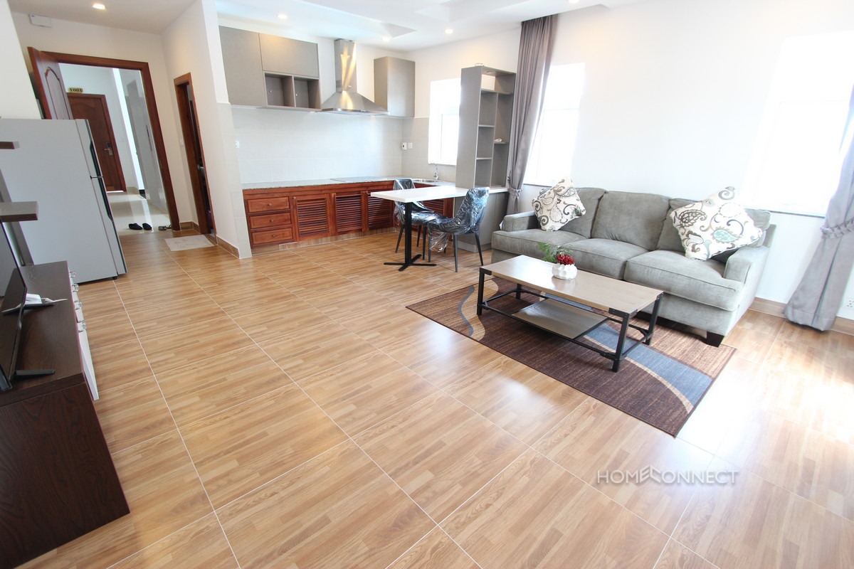 Western Style 1 Bedroom Apartment Near Olympic Stadium | Phnom Penh Real Estate