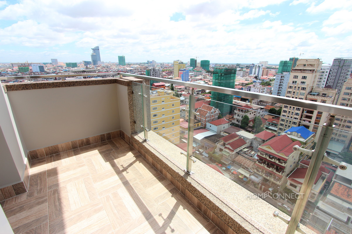 Western Style 4 Bedroom Penthouse Near Olympic Stadium | Phnom Penh Real Estate