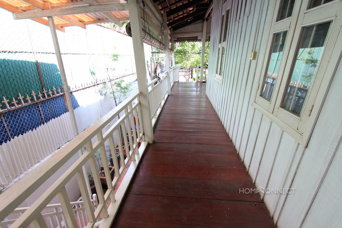 Spacious Wooden Villa With a Pool in BKK1 | Phnom Penh Real Estate
