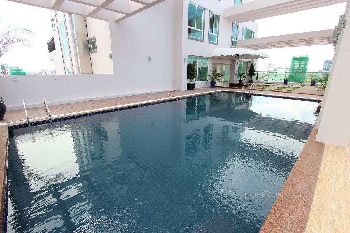 Modern 2 Bedroom Fully Serviced Apartment in BKK3 | Phnom Penh Real Estate
