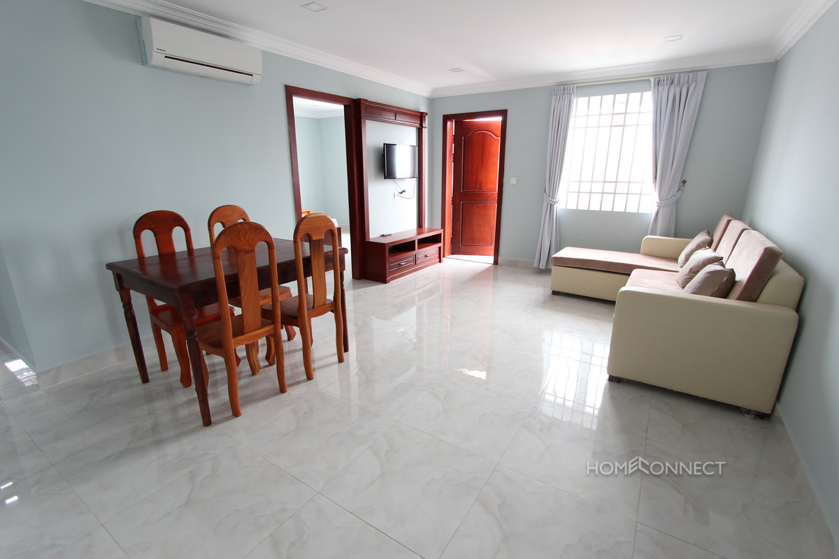 Modern 2 Bedroom Serviced Apartment Close to Russian Market | Phnom Penh Real Estate