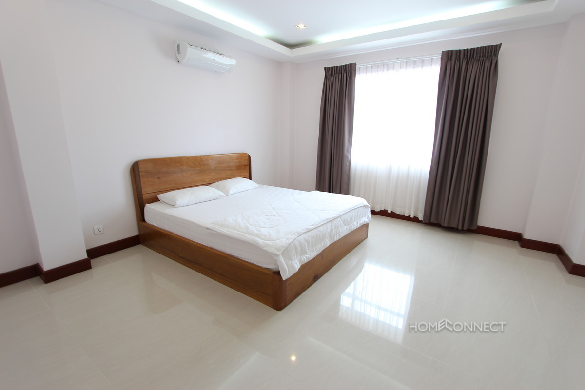 Large Terrace 1 Bedroom Apartment Near Russian Market | Phnom Penh Real Estate