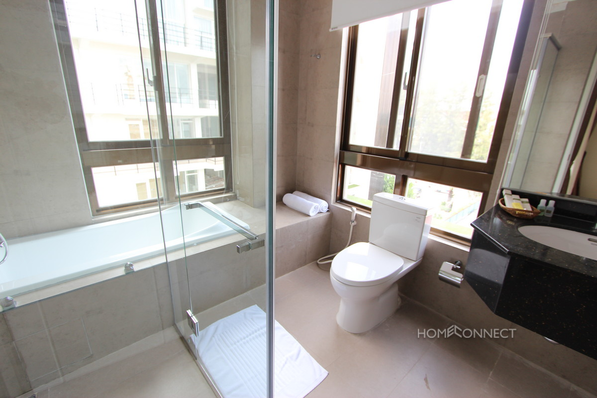 Modern Western 1 Bedroom Apartment In Tonle Bassac | Phnom Penh Real Estate