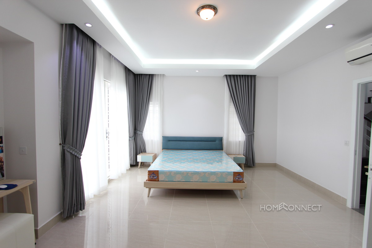 Large Family Sized 4 Bedroom Villa Near Northbridge School | Phnom Penh Real Estate