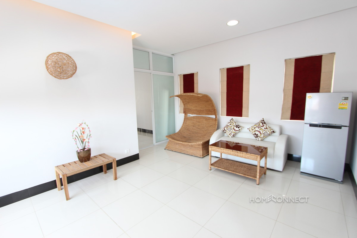 Newly Renovated 1 Bedroom Apartment Near Central Market | Phnom Penh Real Estate