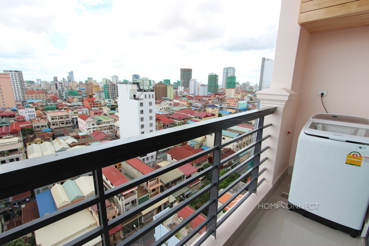 New 1 Bedroom Western Style Apartment For Rent In BKK3   Phnom Penh Real Estate