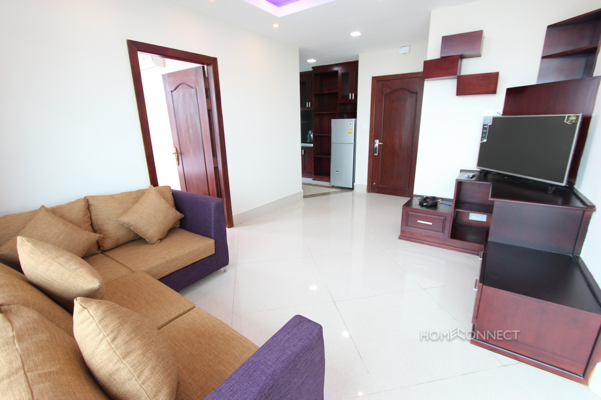 New 2 Bedroom Western Style Apartment For Rent In BKK3 | Phnom Penh Real Estate
