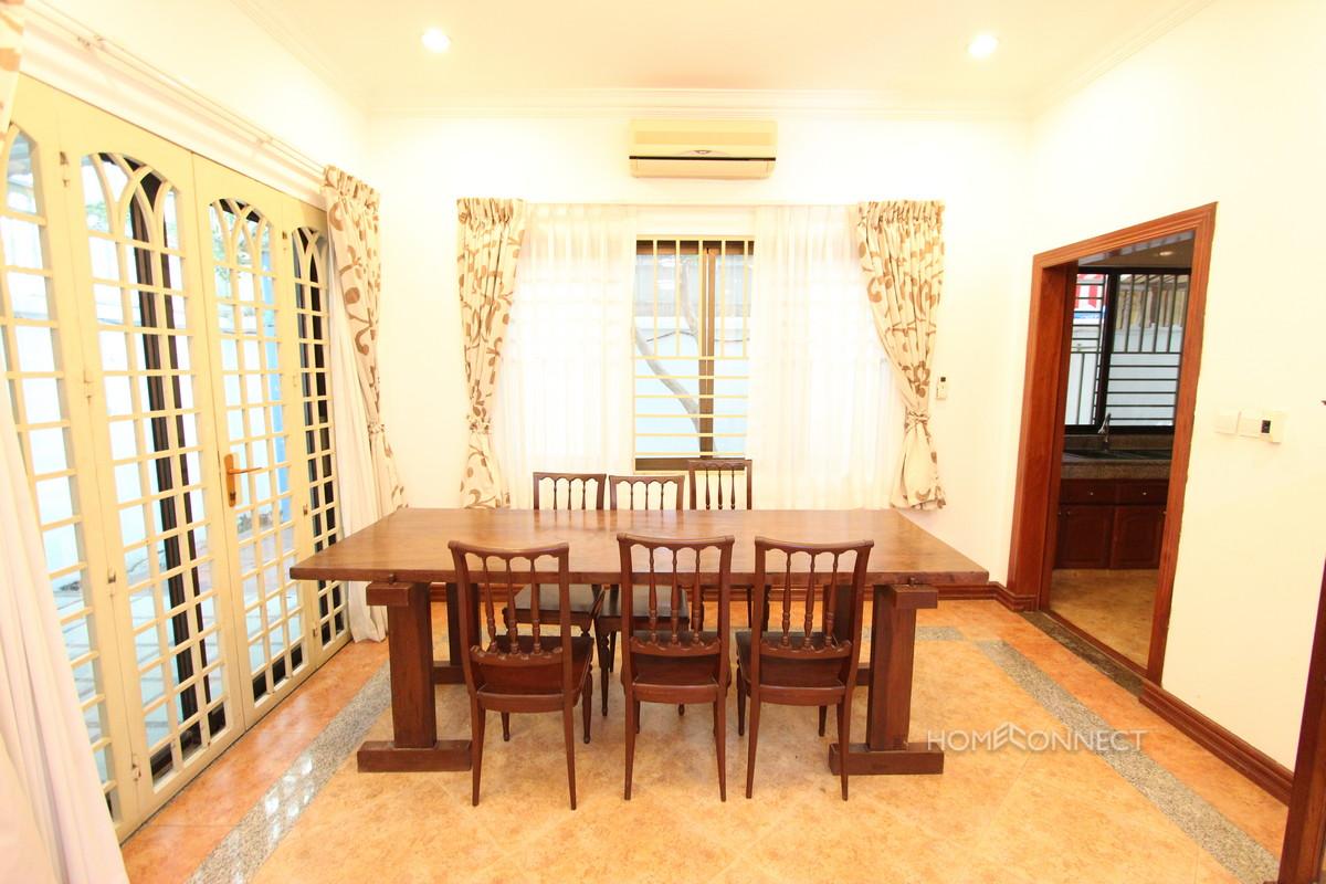 Family Sized 3 Bedroom Villa In Tonle Bassac   Phnom Penh Real Estate