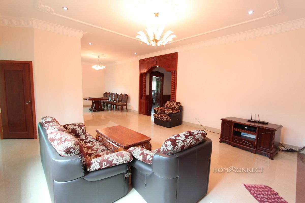 Large 4 Bedroom Villa With Large Garden In Boeung Tumpun | Phnom Penh Real Estate
