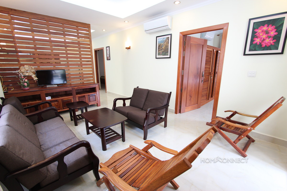 Newly Renovated Apartment Near the Royal Palace | Phnom Penh Real Estate