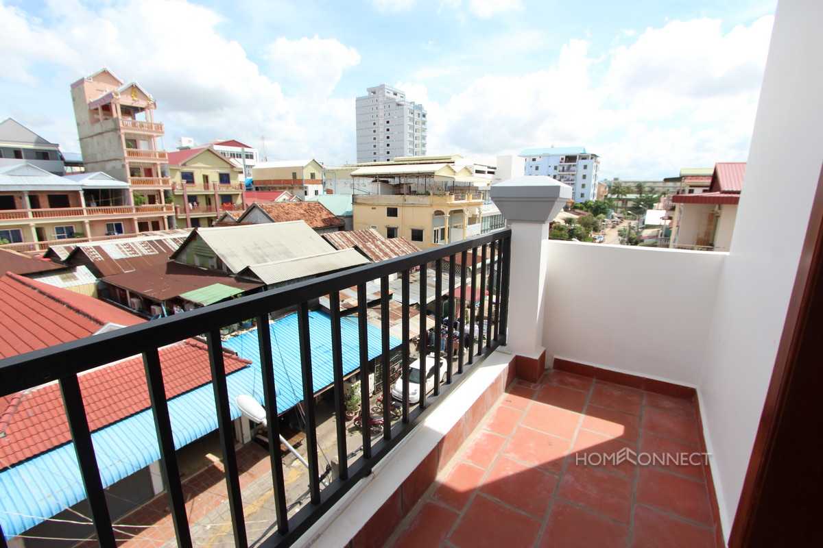 Modern 1 Apartment For Rent Close To The Russian Market | Phnom Penh Real Estate