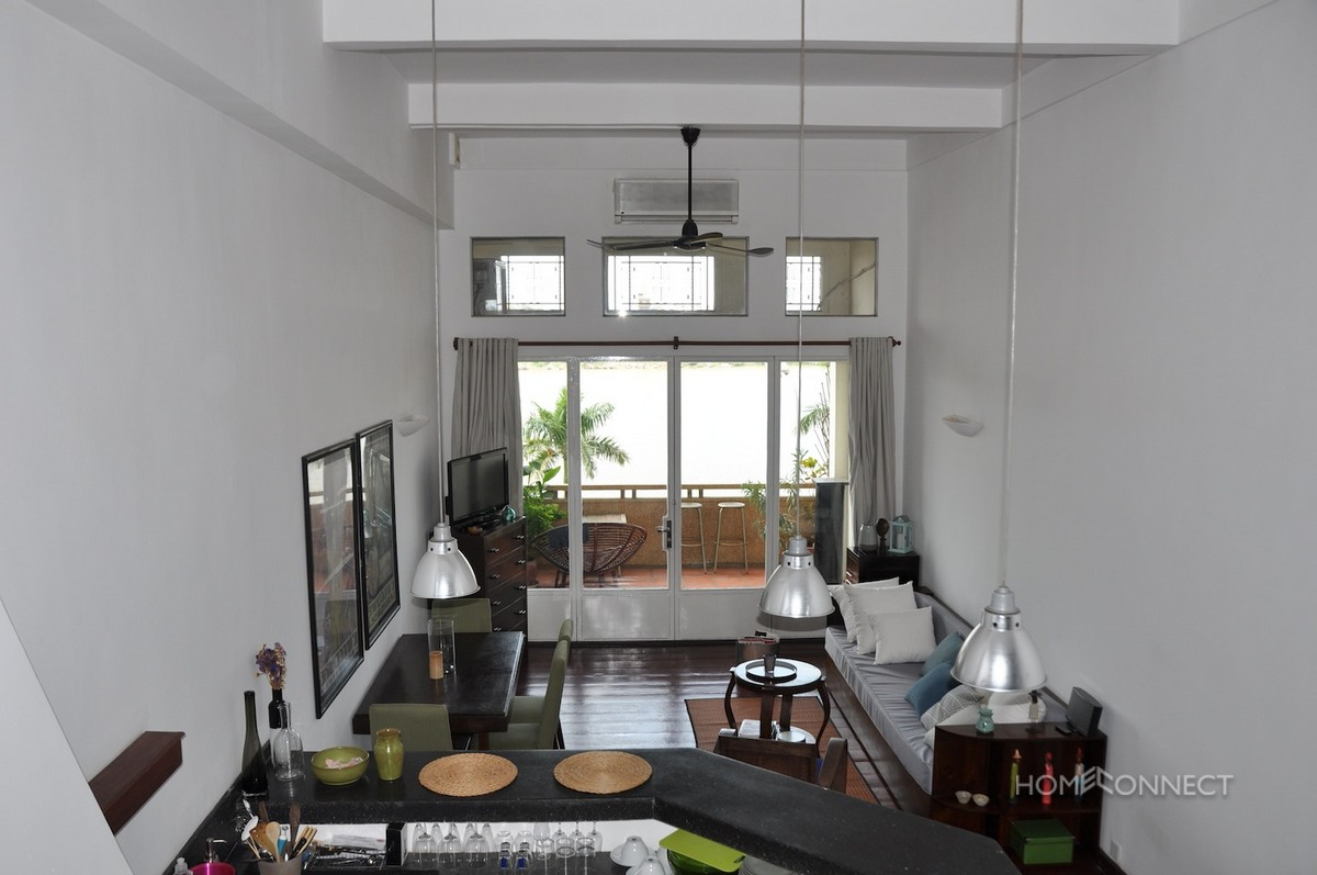 French Colonial 1 Bedroom Apartment On Riverside | Phnom Penh Real Estate