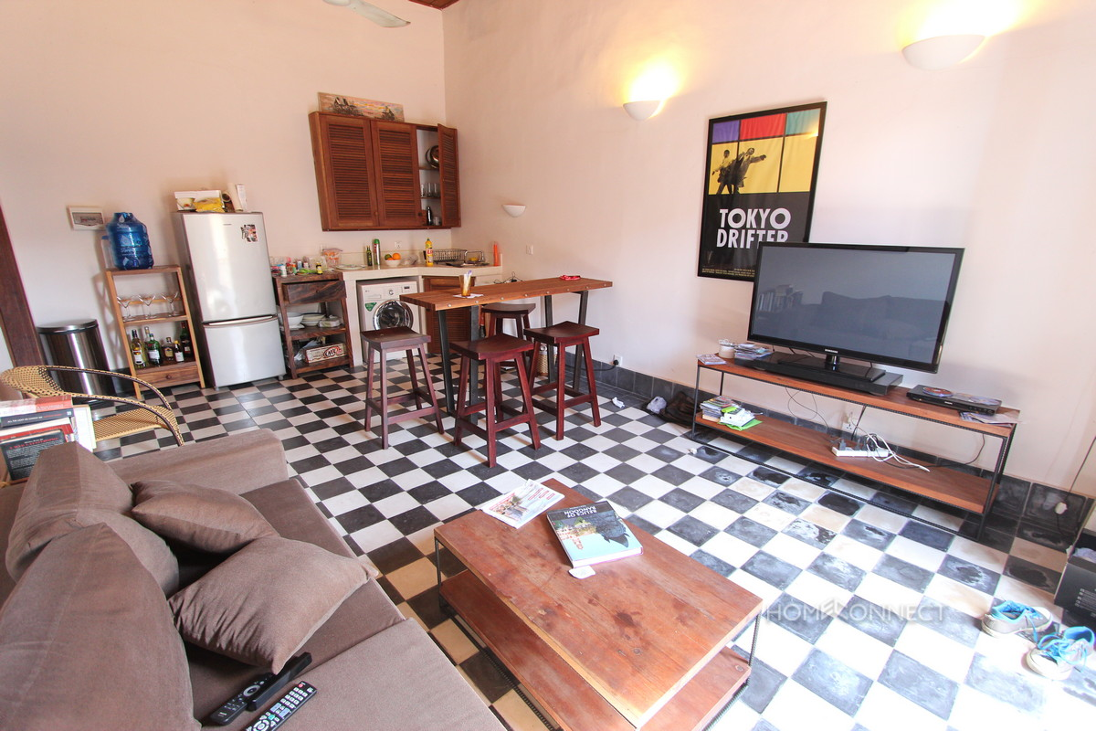French Colonial Apartment For Sale Near Post Office | Phnom Penh Real Estate