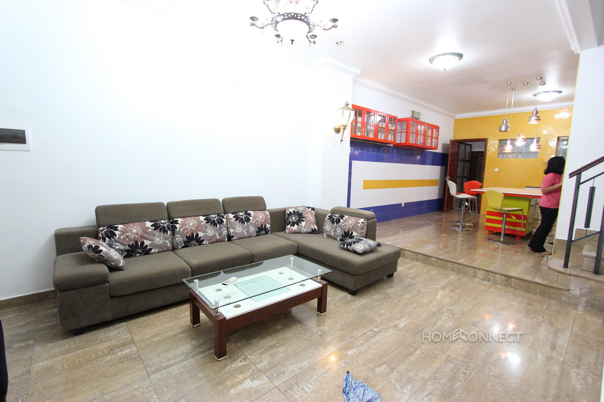 Secure Family Townhouse in Tonle Bassac | Phnom Penh Real Estate