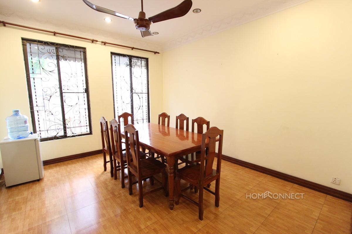 Colonial Style 4 Bedroom Villa For Rent In BKK1 | Phnom Penh Real Estate