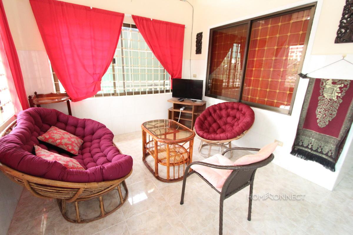 Large Terrace 2 Bedroom Apartment In BKK1 | Phnom Penh Real Estate