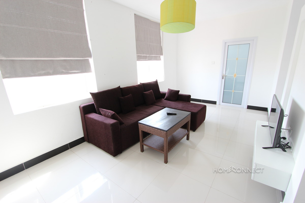 Apartment With a Large Terrace For Rent in BKK3   Phnom Penh Real Estate