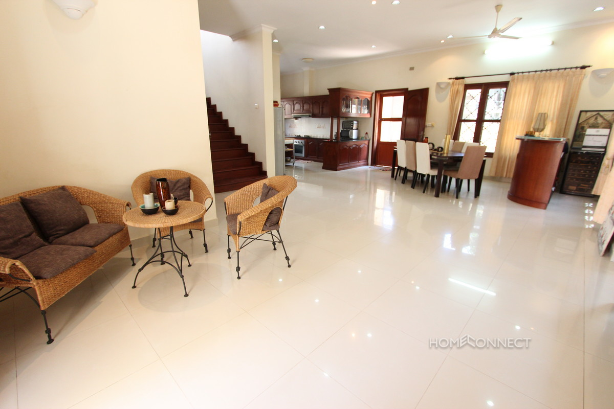 Nicely Appointed Villa for Sale Near Russian Market | Phnom Penh Real Estate