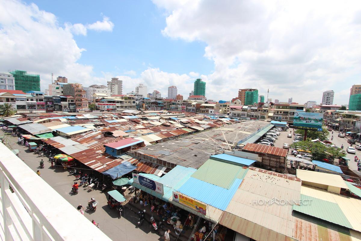 Large Terraced Russian Market Apartment | Phnom Penh Real Estate