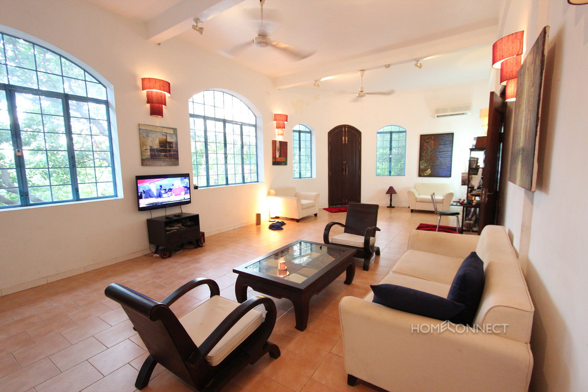 Colonial 3 Bedroom Apartment Near National Museum   Phnom Penh Real Estate