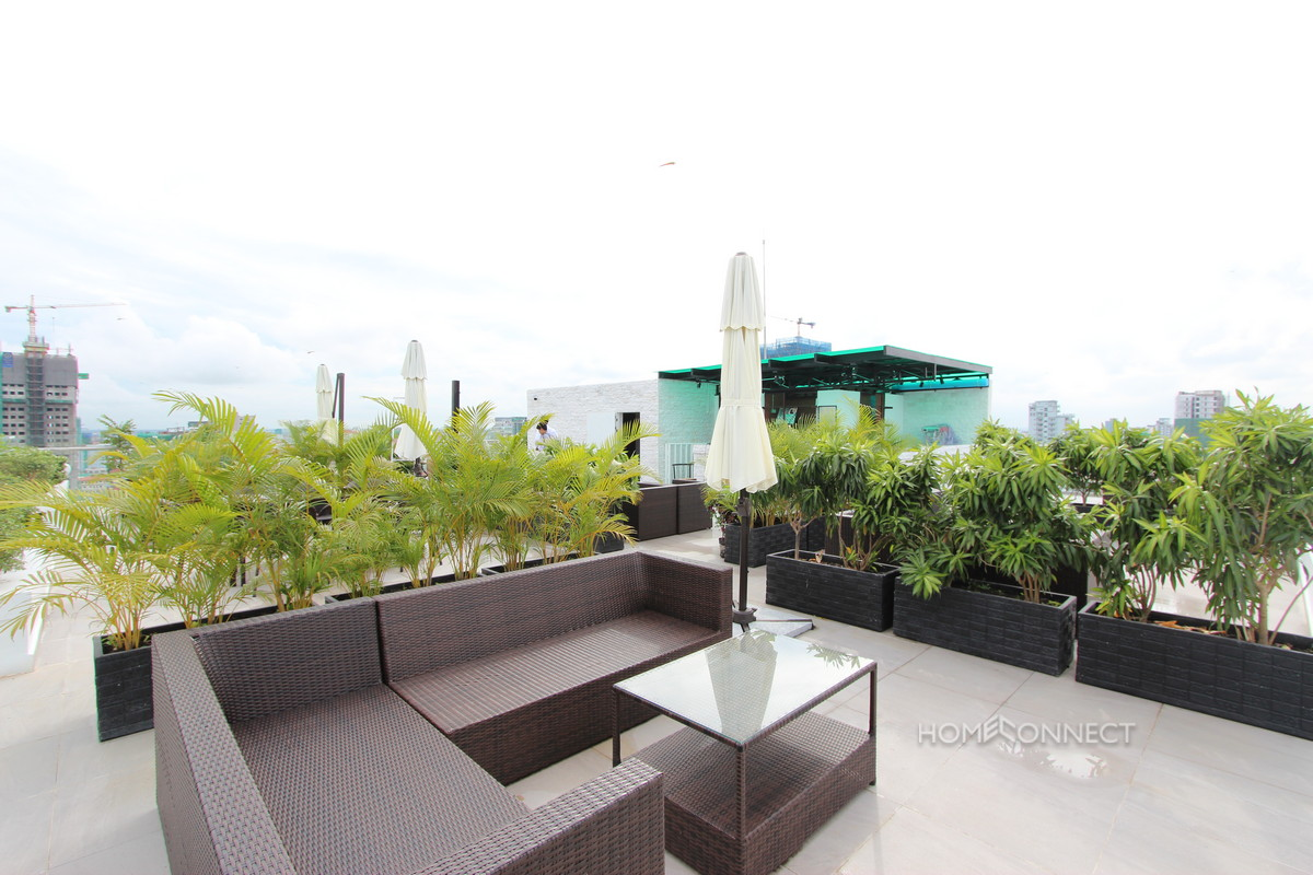 Modern Contemporary 2 Bedroom Apartment in BKK1 | Phnom Penh Real Estate