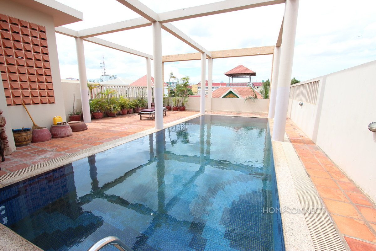 Secure 3 Bedroom Townhouse in Tonle Bassac | Phnom Penh Real Estate
